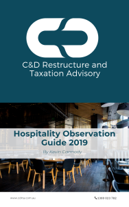 eBook Guide to Hospitality