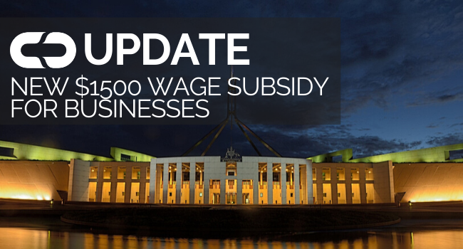 Government Wage Subsidy Businesses