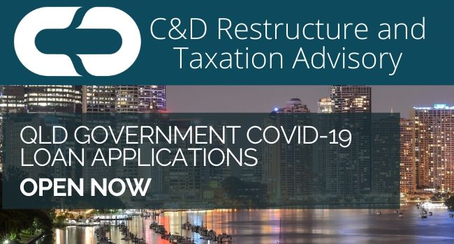 QLD Covid19 Loan Applications Open Now